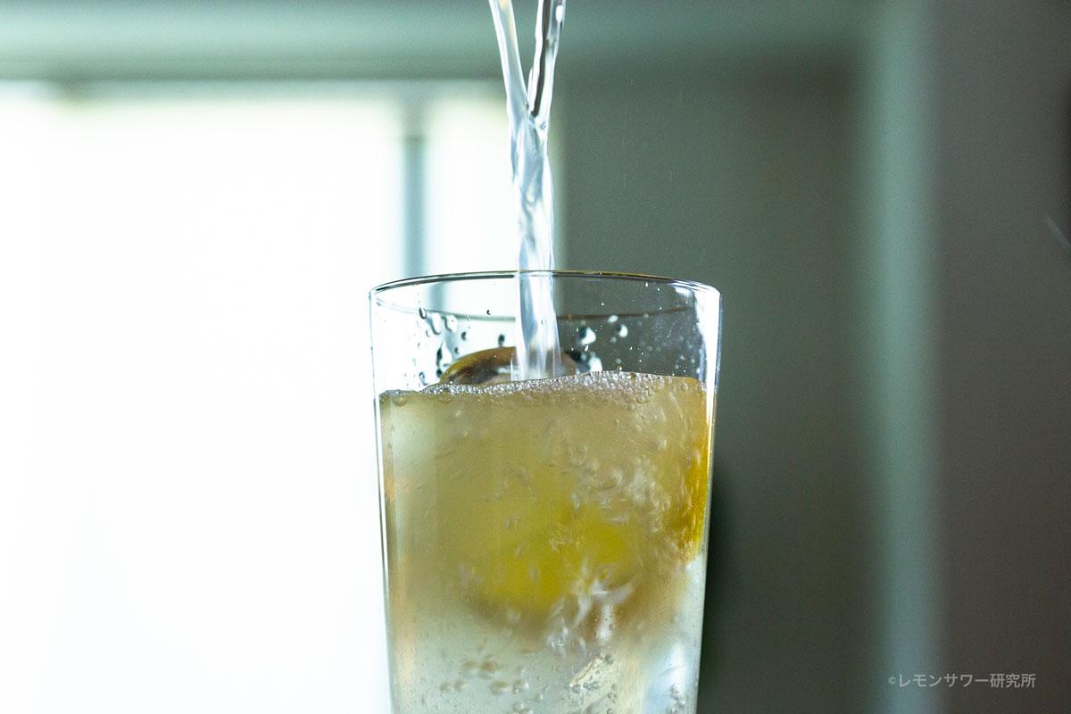 レモンサワーの炭酸