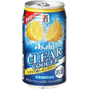 クリアクーラーシチリア産レモンサワーのパッケージ
