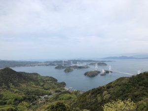 来島「亀老山展望台」の景色